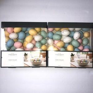 Pastel Speckled Easter Egg Vase Filler Decorations